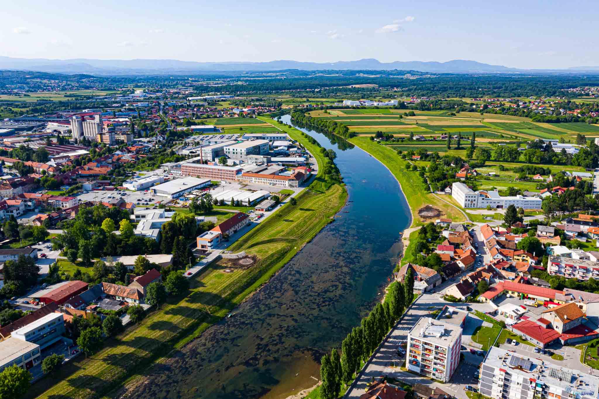 Snimanje iz zraka, Karlovac