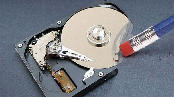 brisanje podataka sa diska