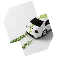 zeleni auto